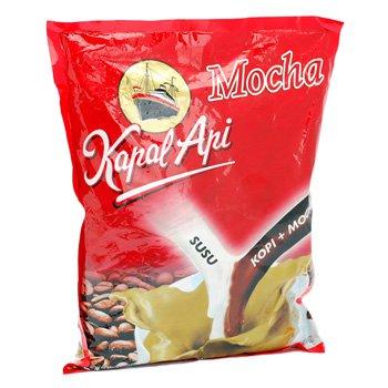 Kapal Api Kopi Mocha 600 gram mocca flavoured Instant coffee 20-ct @ 30 gr
