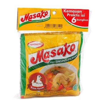 Masako Pelezat Serbaguna Rasa Ayam 80 gram Chicken flavour All Purpose Seasoning 10-ct @ 8 gr