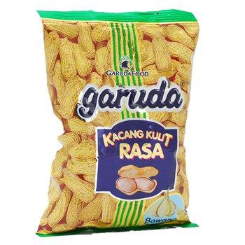 Garuda Kacang Kulit Rasa Bawang 250 gram roasted peanuts garlic flavour