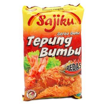Sajiku Tepung Bumbu Serbaguna 80 gram Hot-spicy instan flour ready-to-use seasoning