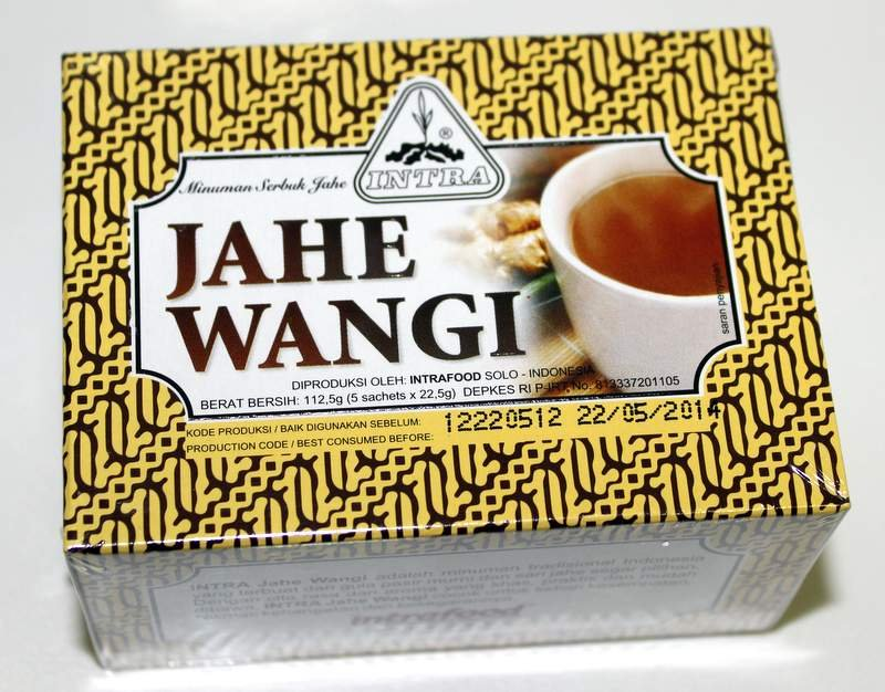 intra jahe wangi 200 gram econimic pack instant ginger