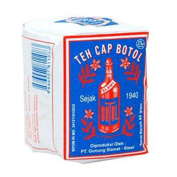 Cap Botol loose tea Blue-pack 80 gram - teh bubuk cap botol bungkus biru