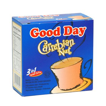 Good Day Carrebian Nut 100 gram instant coffee 5-ct @ 20 gr