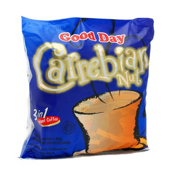 Good Day Carrebian Nut 600 gram instant coffee 30-ct @ 20 gr