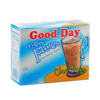 Good Day Freeze Choc Orange Coffee 150 Gram (5.29 Oz) Instant Coffee 5-ct @ 30 Gram