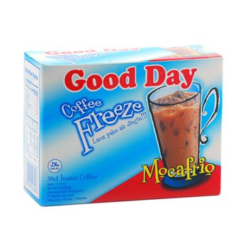 Good Day Freeze Mocafrio Coffee 150 gram instant Mocha Flavour 5-ct @ 30 gr
