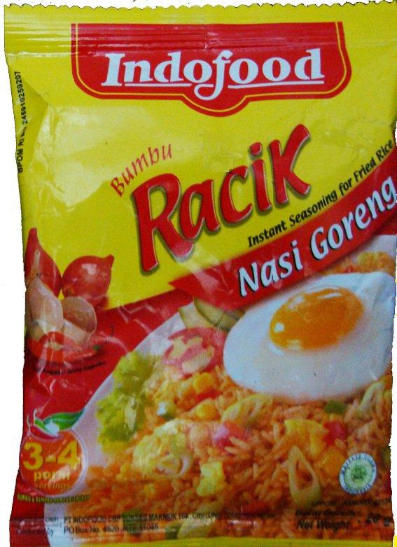 Indofood Bumbu Racik Nasi Goreng 20 gram Instant Seasoning for Fried Rice