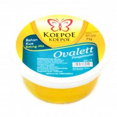 Koepoe-Koepoe Baking Mix Ovalett emulsifiers 75 gram Ovalette