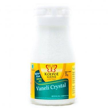 Koepoe-Koepoe Baking Mix Perisa Vanilla  20 gram Vaneli Crystal