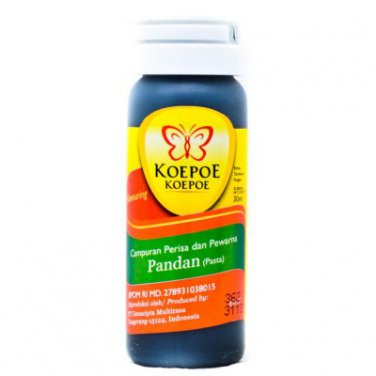 Koepoe-Koepoe Food Flavoring Aroma Pasta Pandan 30 ml flavor enhancer for bread cakes and beverages