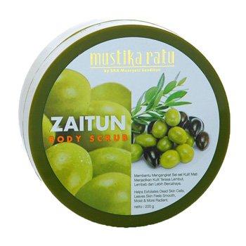 Mustika Ratu Zaitun Body Scrub 200 gram Olive oil granule scrub
