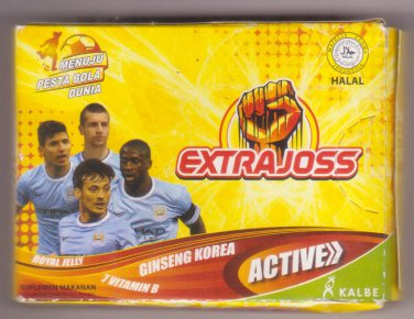 Extra Joss Active Royal Jelly Ginseng Korea and 7 vitamin B - Extrajoss 6 sachet @ 4 gram