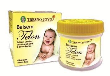 Tresno Joyo Telon Ointment 40 Gram (1.41 Oz) - Soft Balm for Baby and Children