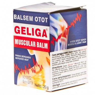 Geliga Muscular Balm Repeated Heat 20 Gram