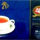 2Tang Jasmine premium tea bags 100 gram - 2 Tang teh celup melati Premium 50-ct @ 2 gr