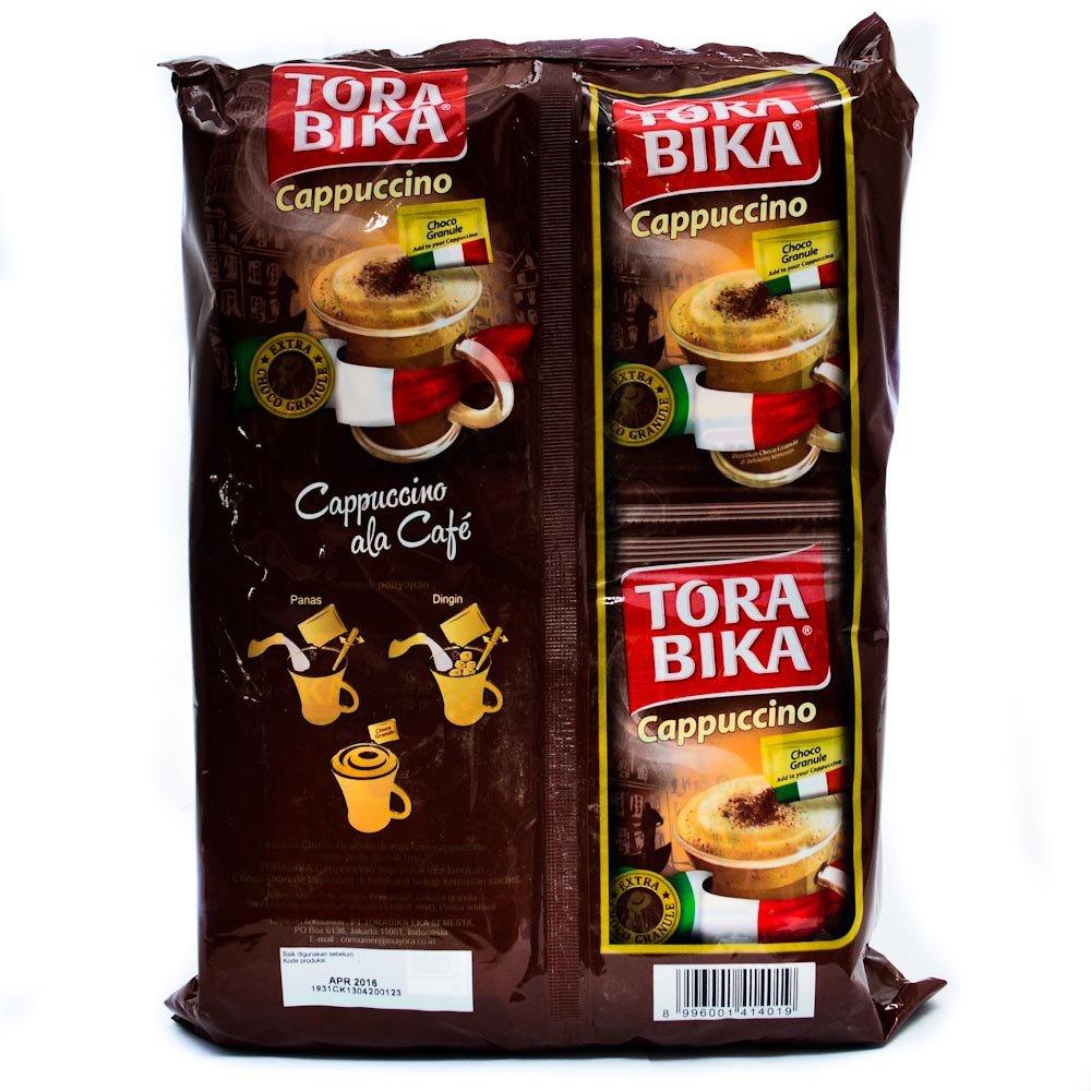 Torabika Cappucino with Extra Choco Granule 500 gram instant coffee 20-ct @ 25 gr