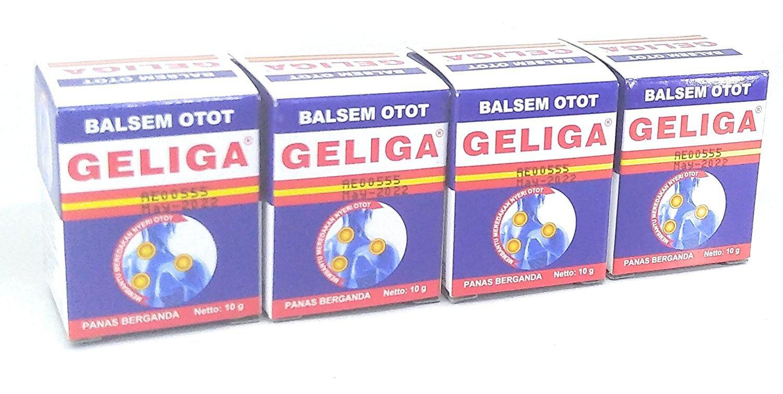 Geliga Muscular Balm Repeated Heat 10 Gram (pack of 4)