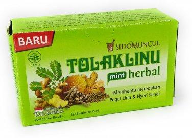 Sido Muncul Tolak Linu Mint Herbal 5-ct, 75 Ml/2.5 fl oz (Pack of 1)