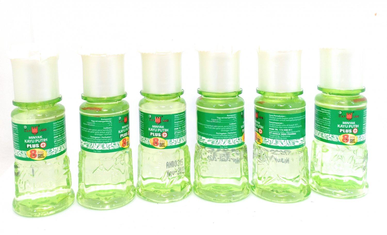 Cap Lang (Eagle Brand) Cajuput Oil Plus, 15 Ml (Pack of 6)