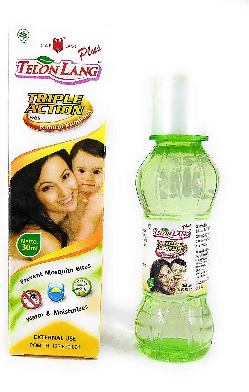 Cap Lang (Eagle Brand) Telon Oil Plus, 30 Ml (Pack of 12)