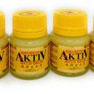 Eagle Brand Balm Aktiv Cap Lang , 40 Gram (Pack of 4)