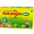 Antangin Mint - Herbal Syrup 12-ct, 180 Ml/ 6 fl oz (Pack of 12)