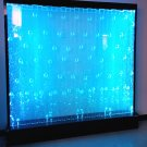 "HUGE 79"" x 79"" Advanced LED Full Color Bubble Wall Panel Fountain Bar Restaurant"