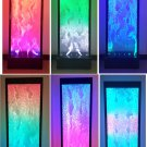 New Full Color Advanced LED Bubble Wall Water Fountain Panel Lighting Club