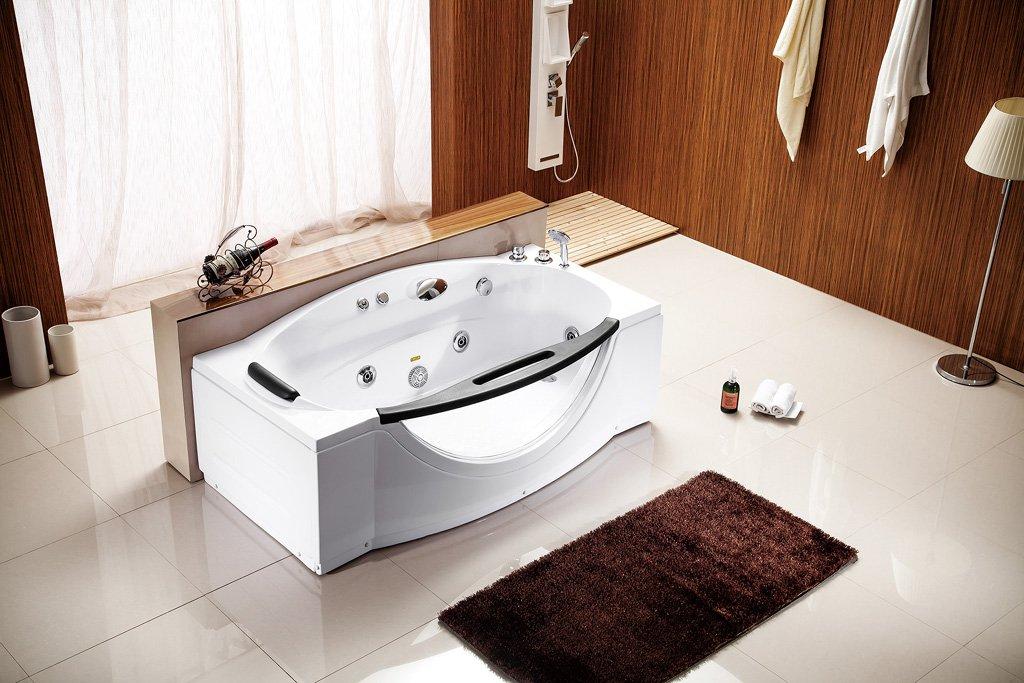 Computerized Hydrotherapy Soaking Jetted Massage Bathtub