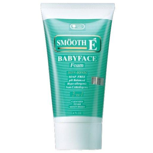 Smooth E Babyface Foam Non-Ionic Facial Cleanser 4.0 oz