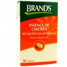 Brand's Essence of Chicken with Ginkgo Biloba and Ginseng 30 Tablets