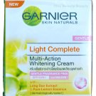 Garnier Light Skin Whitening Day Cream Gentle Fragrance Free SPF15 50ml