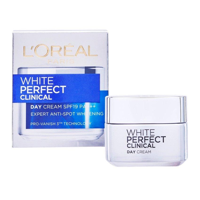 L'Oreal Paris White Perfect Clinical Skin Whitening Day Cream SPF 19 50ml 1.7oz