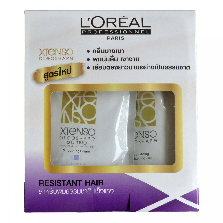 L'Oreal Xtenso Oleoshape Hair Straightener for Resistant Hair 125ml
