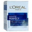 L'Oreal White Perfect Day Cream Tourmaline Skin Whitening SPF 17 20ml TRAVEL SIZE