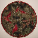 Embroidery Hoop Fabric Art Holiday Design Orioles