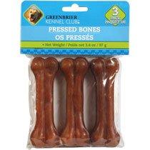Greenbrier Kennel Club Pressed Bones, 3-ct. Packs