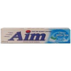 AIM 6 OZ ULTRA MINT GEL CAVITY PROTECTION BLUE