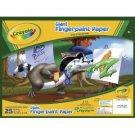 Crayola Giant Fingerpaint Paper NEW