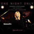 One Night Only (Live) [Digipak] [CD & DVD] by Barbra Streisand (CD, May-2010,...