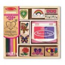 Melissa & and Doug Friendship Stamp Set NEW
