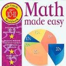 Math Made Easy by John Kennedy (2001, Paperback, Workbook)