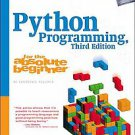 Python Programming for the Absolute Beginner by Michael Dawson (2010, Paperback)