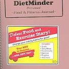 Dietminder: Personal Food & Fitness Journal (2000, Hardcover, Spiral)