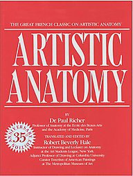 Artistic Anatomy by Dr. Paul Richer (2005, Paperback, Reprint)