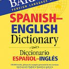 Barron's Foreign Language Guides Spanish-English Dictionary (2006, Paperback,...