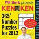 Cal 2012 Kenken by Tetsuya Miyamoto (2011, Calendar)