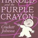 Harold and the Purple Crayon by Crockett Johnson (1955, Hardcover)