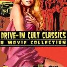 Drive-In Cult Classic - 8 Movie Set (DVD, 2008, 2-Disc Set)
