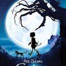 Coraline by Neil Gaiman (2008, Paperback, Media Tie In, Reprint)